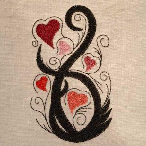 Hearts-bouquet preview