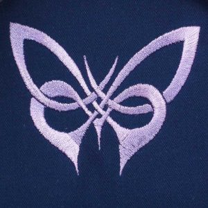 embroidery file Celtic Knot Butterfly