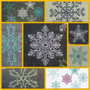 Snow crystals set