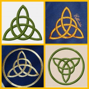 Celtic Knot Trequetra Set