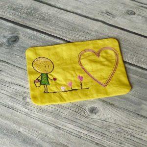 ITH drip mat Lillys heart