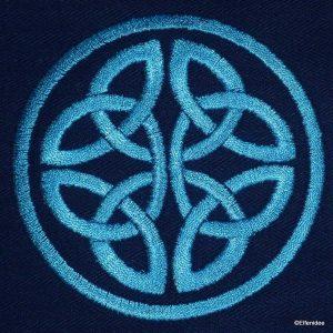 Celtic knot 01 - machine embroidery design