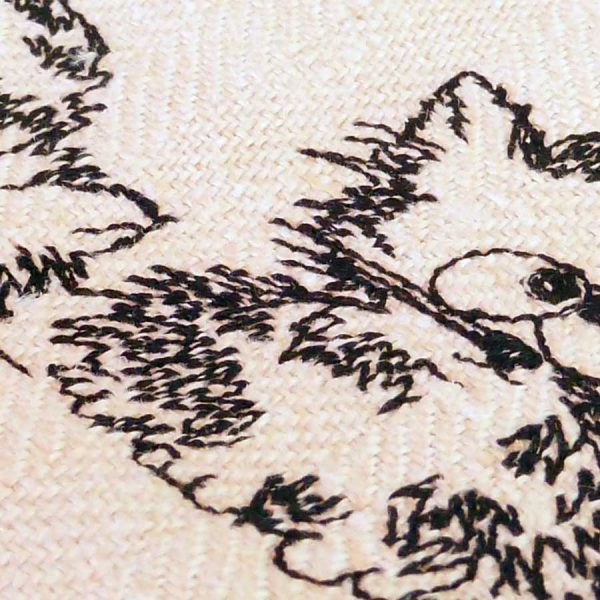 Embroidery design - Three Kitten Cartoon detail 1