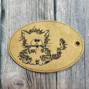 ITH Cartoon Pendent Cat 1010
