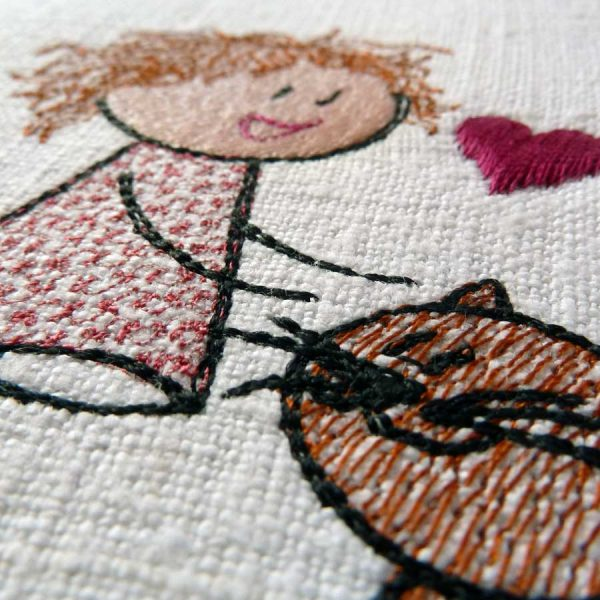 Lilly and the Cat Detail1