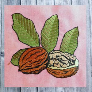 Embroidery file Walnut
