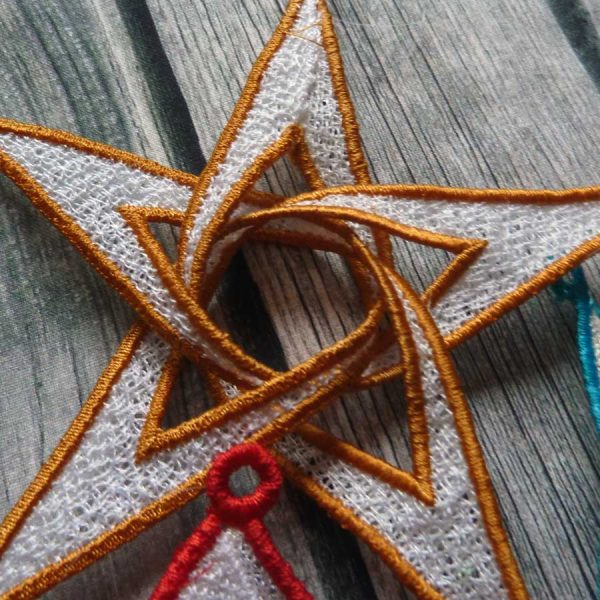 embroidery file FSL 3D Star 1318
