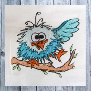 boy bird 1010 - Machine Embroidery design