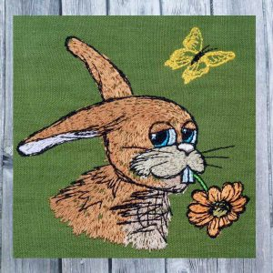 Rabbit Conrad 1010 - machine embroidery design
