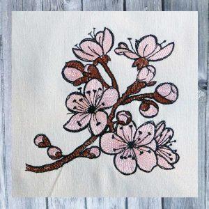 Kirschblüten 1010 Stickdatei