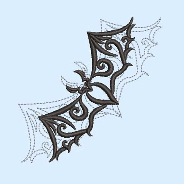 embroidery Tribal bat 1010 preview