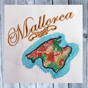 Embroidery design Mallorca Set