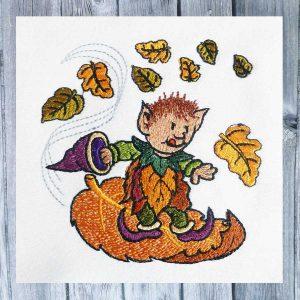 embroidery file Autumn Joy 1010