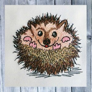 Hedgehog Huggy 1010 - machine embroidery
