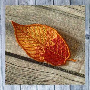Lace Autumn Leaf Freebie