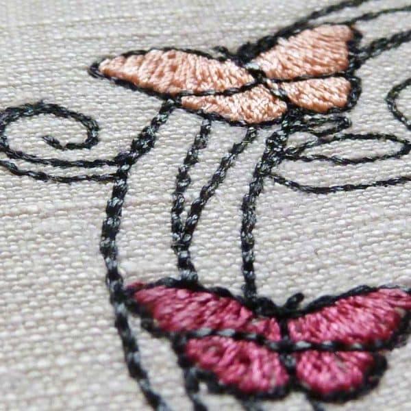 Stickdatei Schmetterling detail5