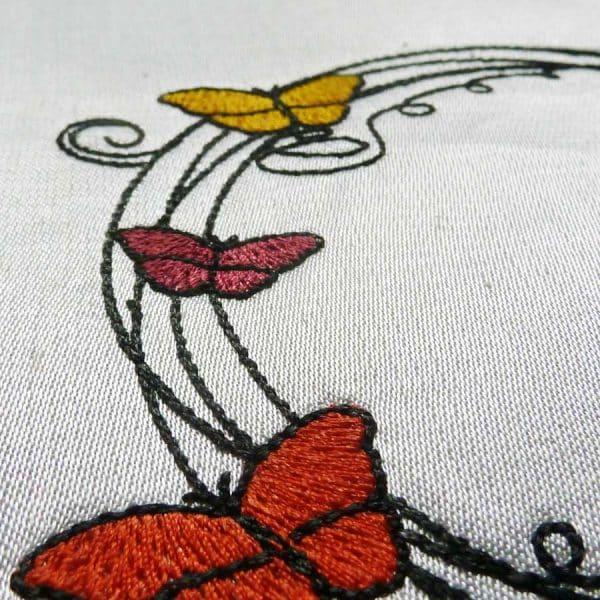Stickdatei Schmetterling detail6