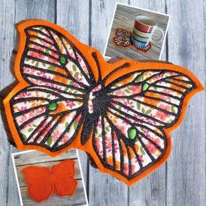 ITH Schmetterling Untersetzer